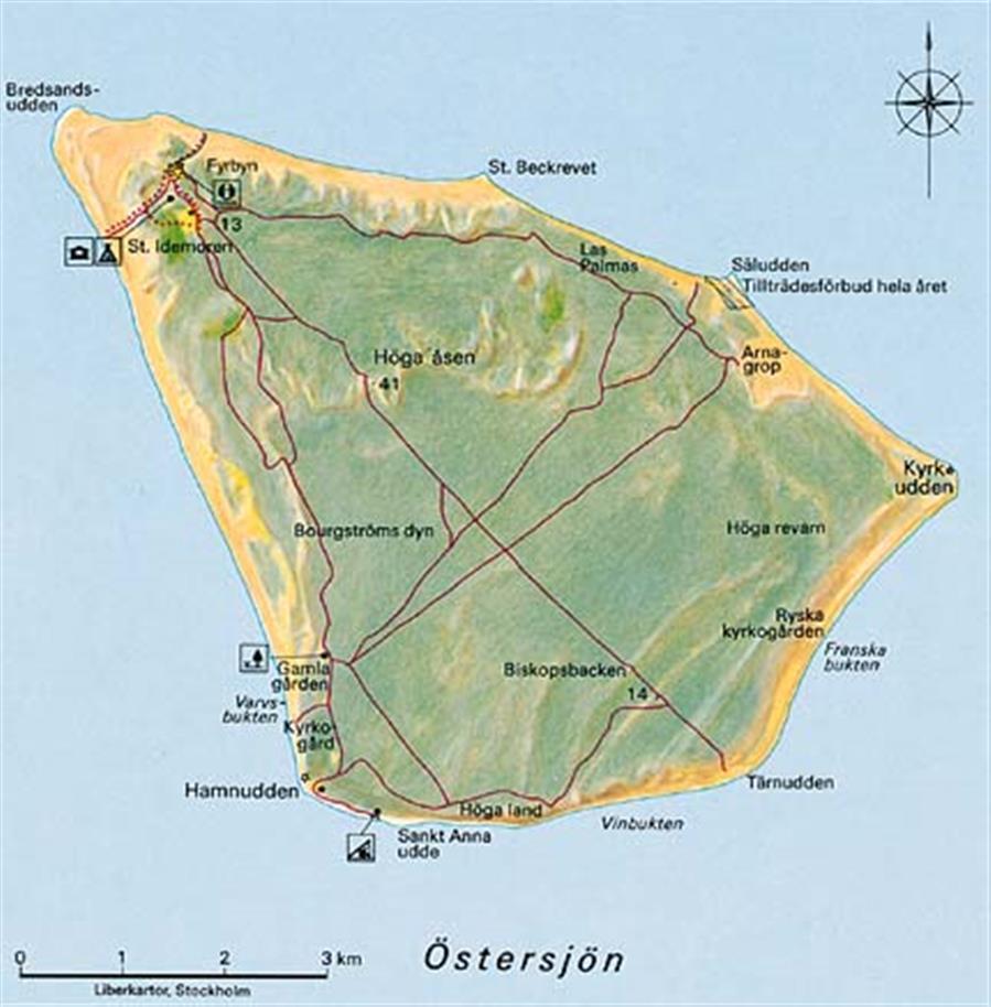 gotska sandön karta Hitta hit | Besöksinformation | Gotska Sandöns nationalpark | Välj  gotska sandön karta