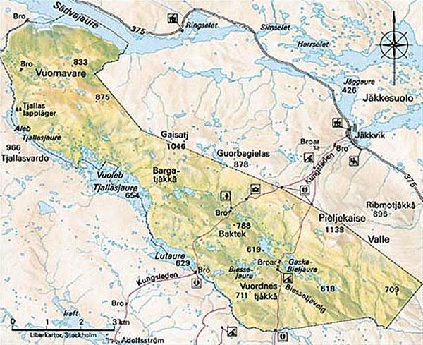 karta jäckvik Hitta hit | Besöksinformation | Pieljekaise nationalpark | Välj  karta jäckvik
